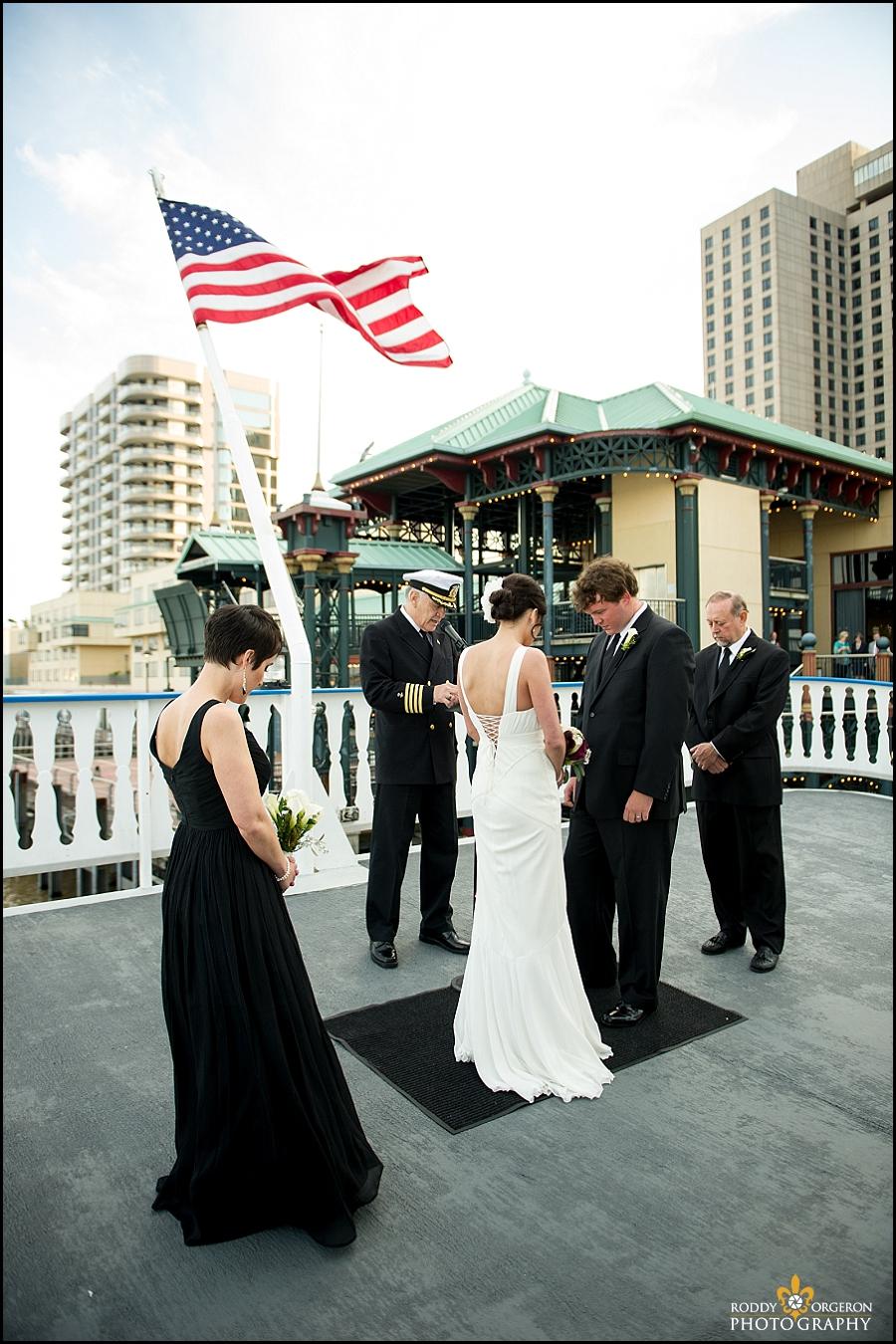 Creole Queen wedding