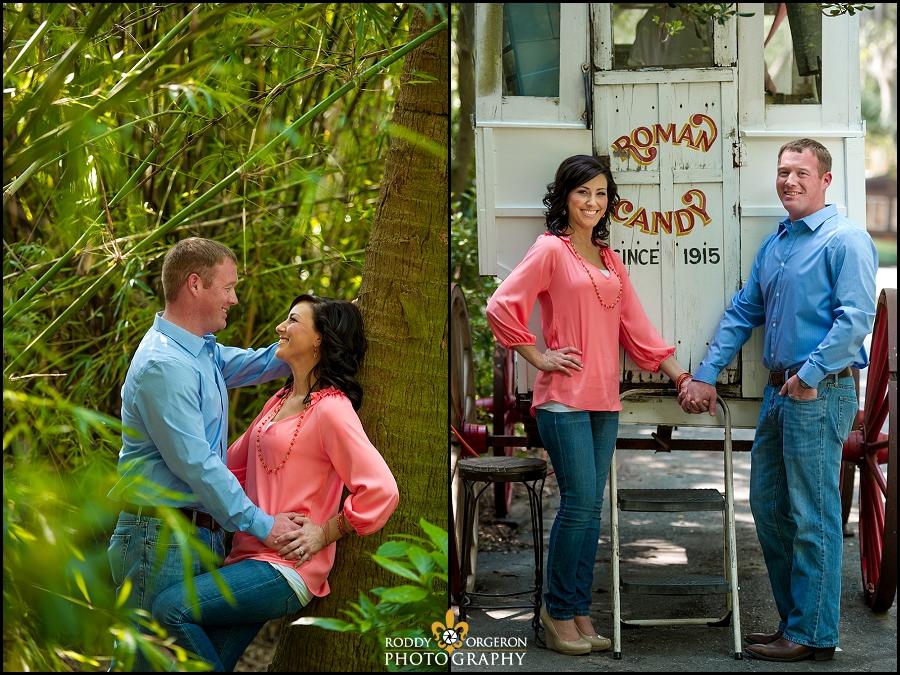 Engagement session Audubon Zoo - New Orleans