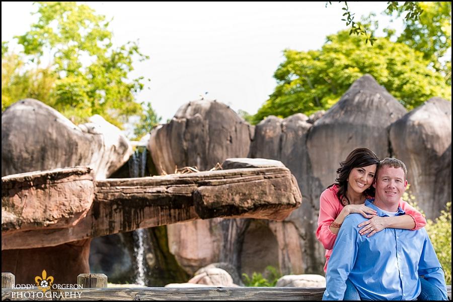 Engagement session Audubon Zoo