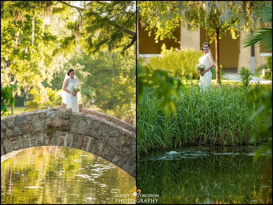 City Park New Orleans Bridal Session