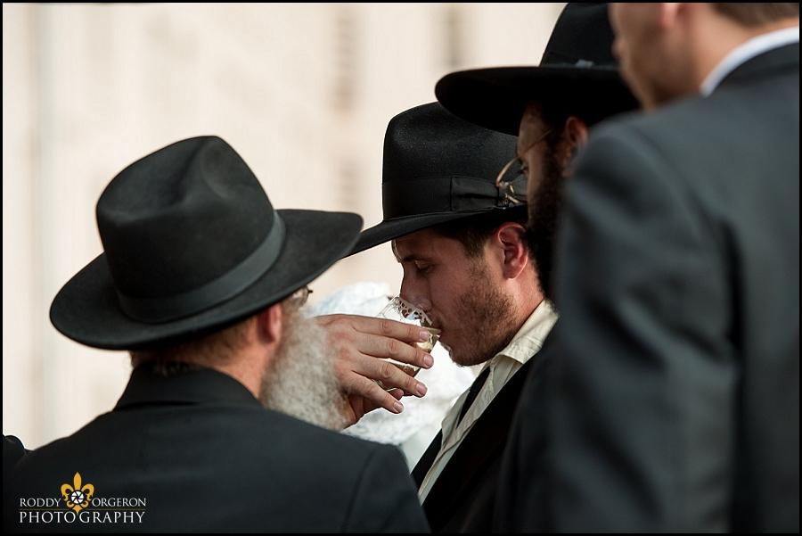 Hasidic Jewish wedding - Chupah
