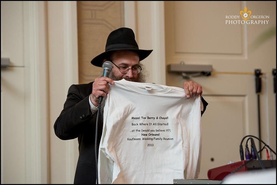New Orleans Jewish wedding