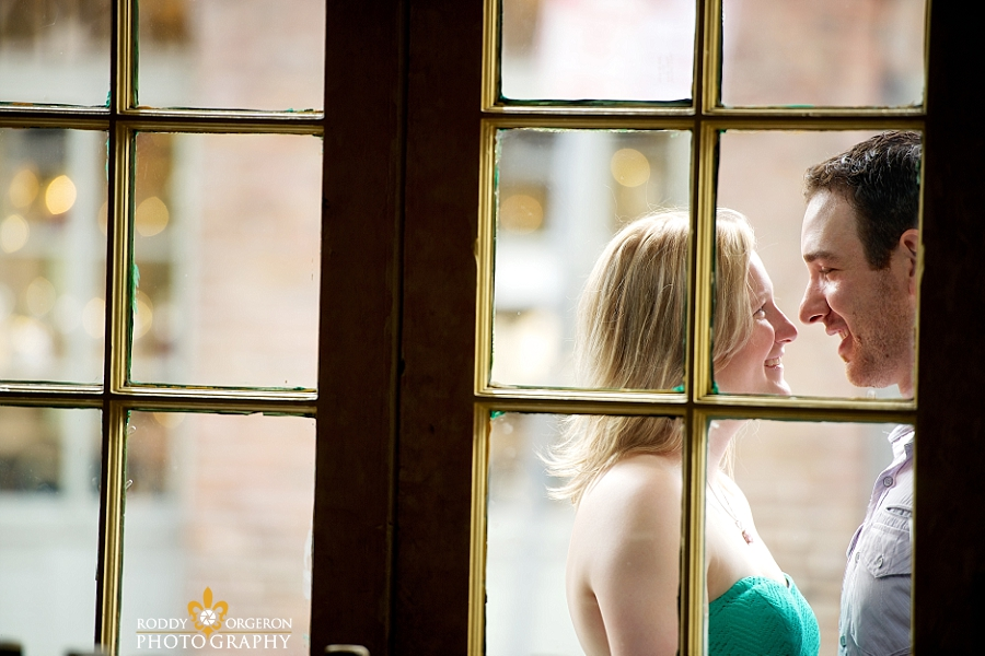 French Quarter Engagement session