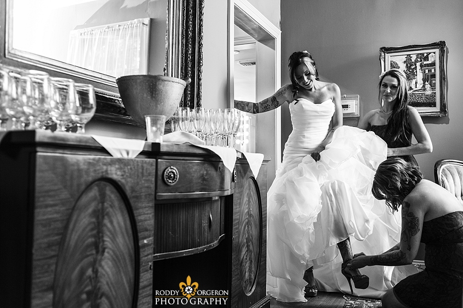 New Orleans wedding photographer at Houmas house