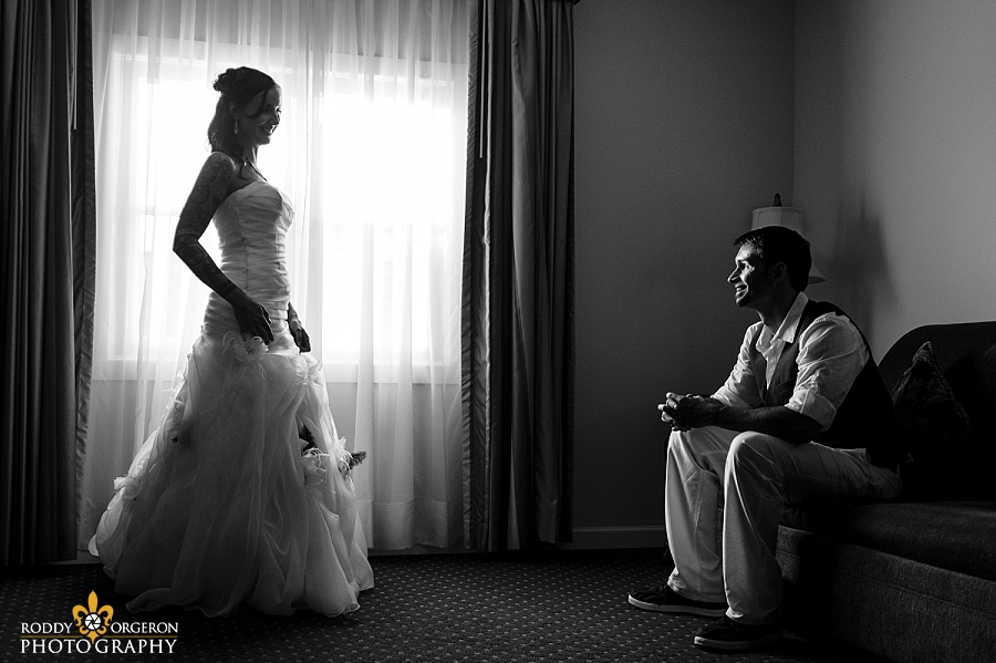 Houmas house - bride & groom