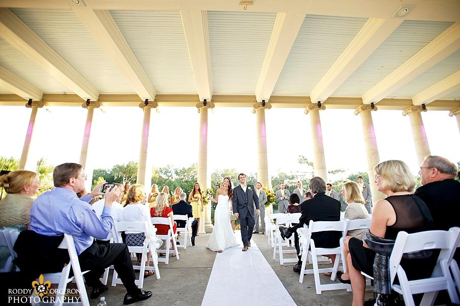 City Park wedding