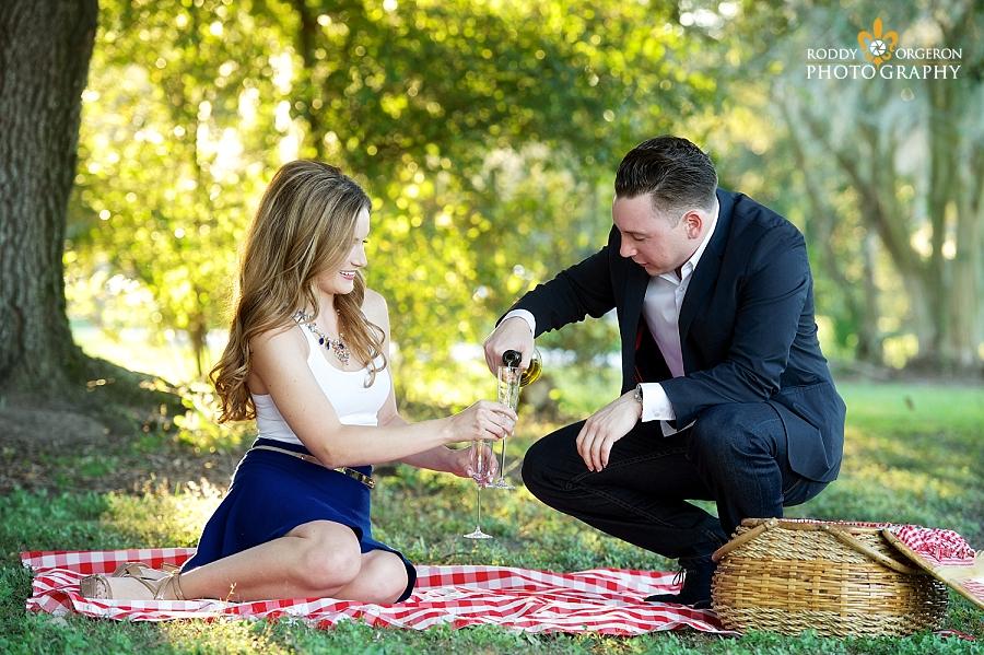 Engagement session City Park
