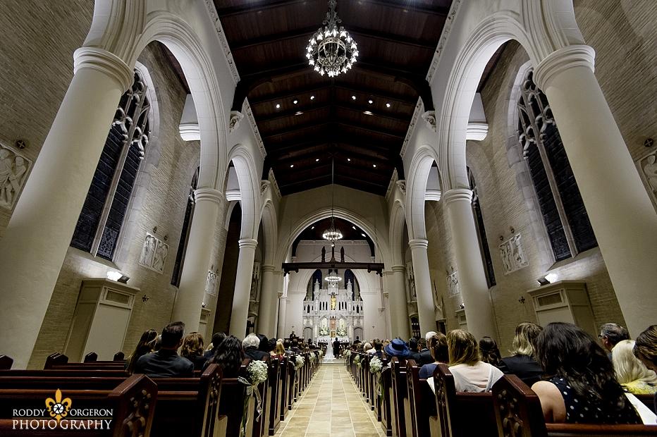Ursuline church in New Orleans