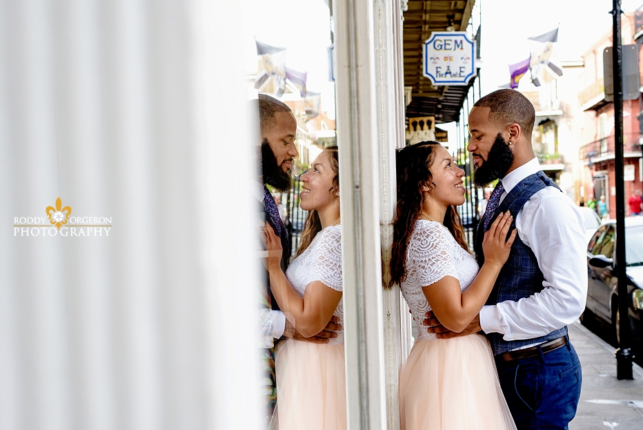 New Orleans Engagement session reflection