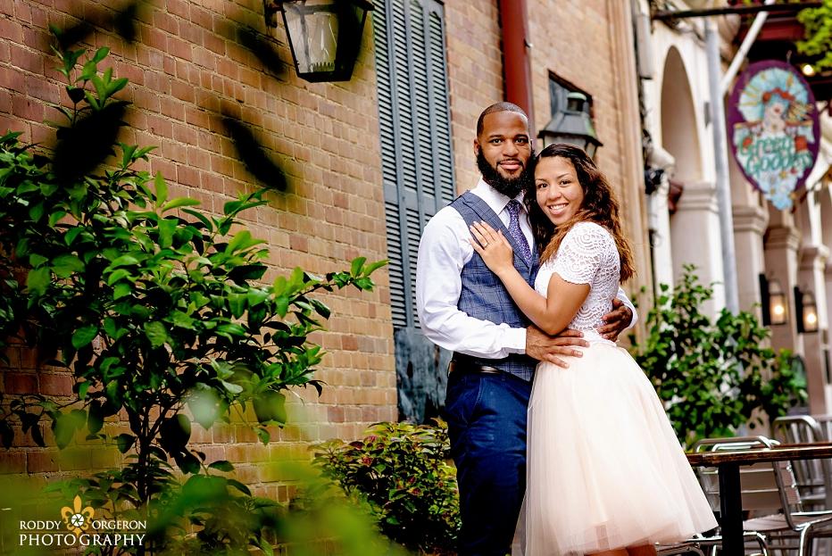 New Orleans couples portrait