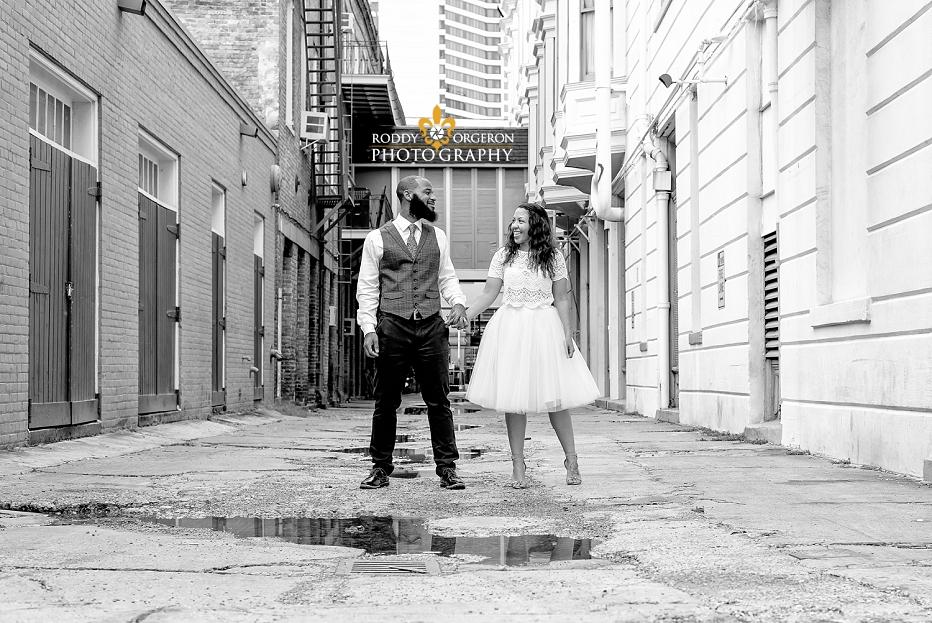 New Orleans portrait of couple