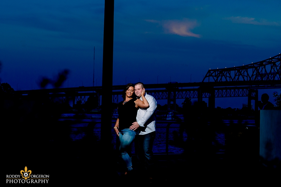 Engagement session in French Quarter New Orleans