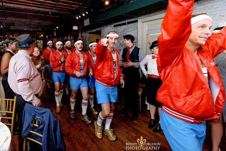 610 Stompers at The Chicory wedding