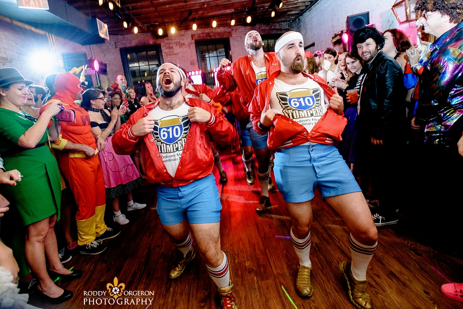 Chicory wedding with the 610 Stompers