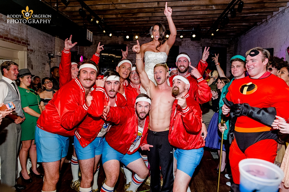 610 Stompers with Bride and Groom