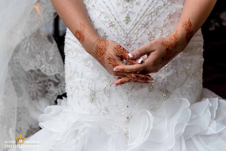 Indian bridal prep