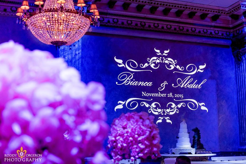 The Balcony wedding