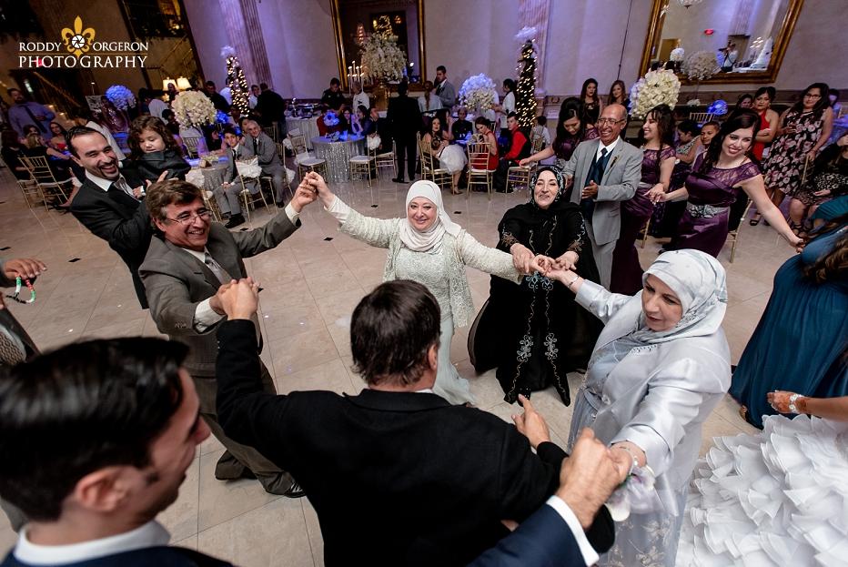 The Balcony wedding dancing