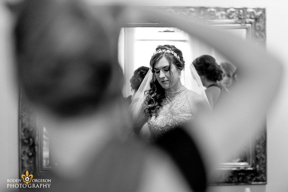Bride getting ready for her big day!