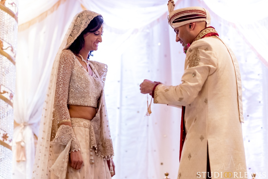 Indian wedding ceremony at the Roosevelt hotel in New Orleans
