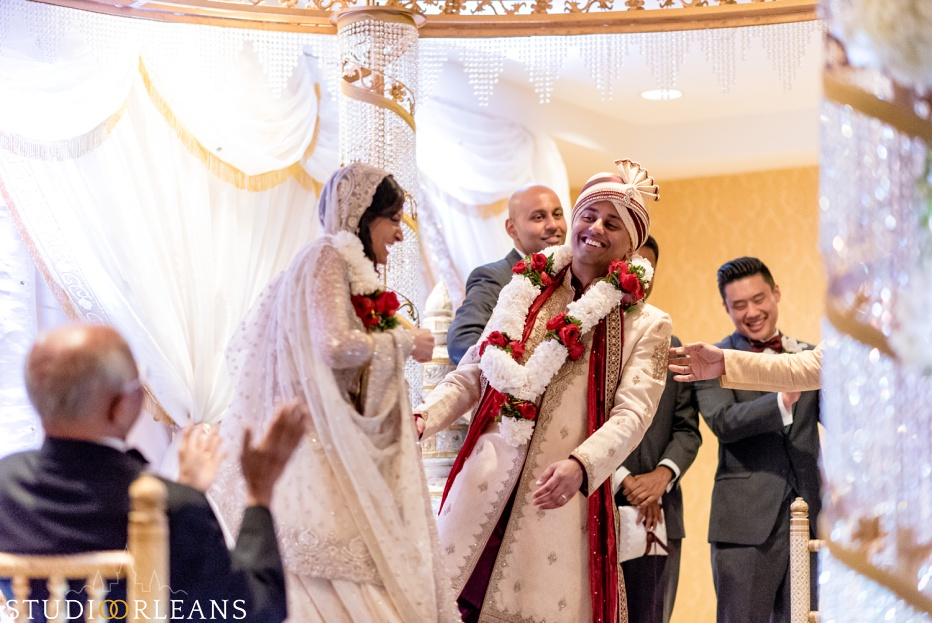 Indian wedding at the Roosevelt hotel in New Orleans