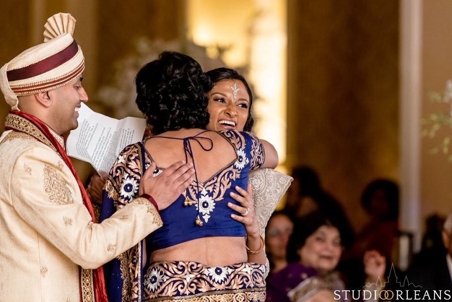 New Orleans Indian wedding reception -The Roosevelt hotel