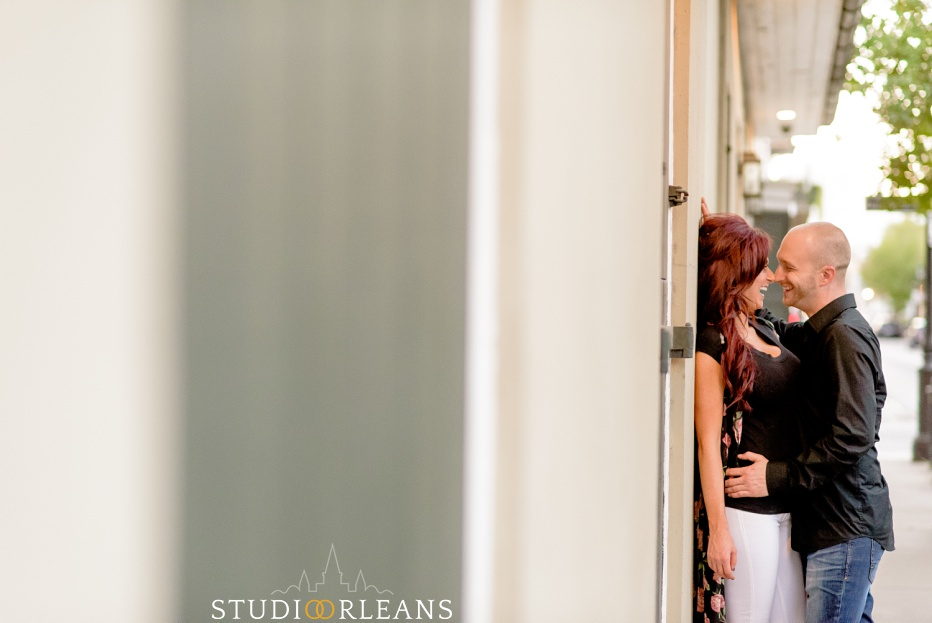 Engagement Session in the French Quarter of New Orleans