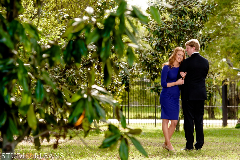 Engagement Session in City Park New Orleans