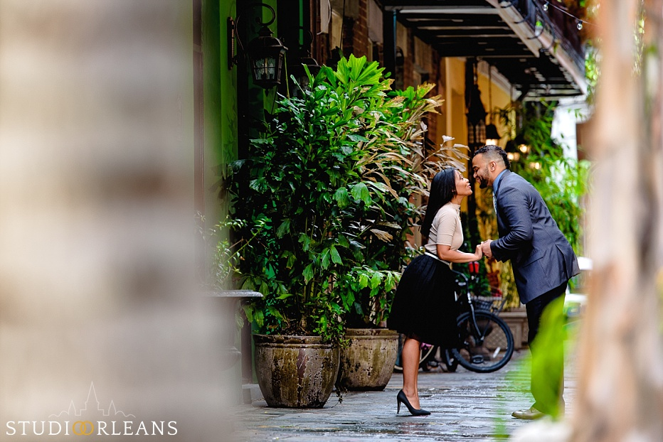 Anniversary session in New Orleans