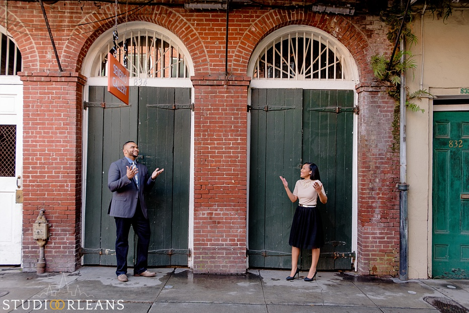 French Quarter Anniversary session
