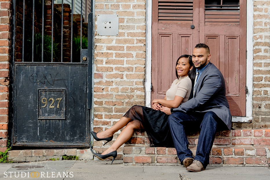 New Orleans Anniversary session - French Quarter