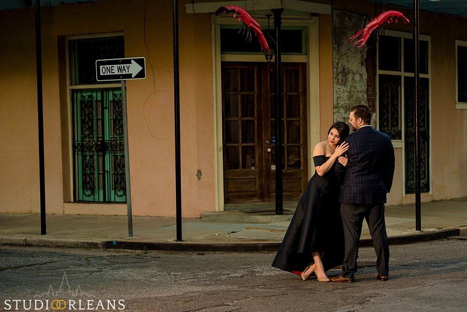 Checkout this beautiful couple as they pose on the streets for there Engagement Session in New Orleans