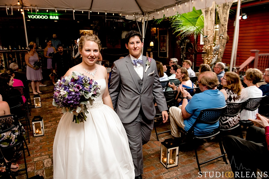 Checkout this beautiful Same sex wedding in New Orleans at the House of Blues