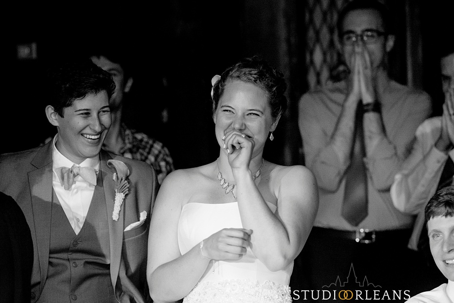 House of Blues wedding with the Nola Dukes - Same sex wedding in New Orleans
